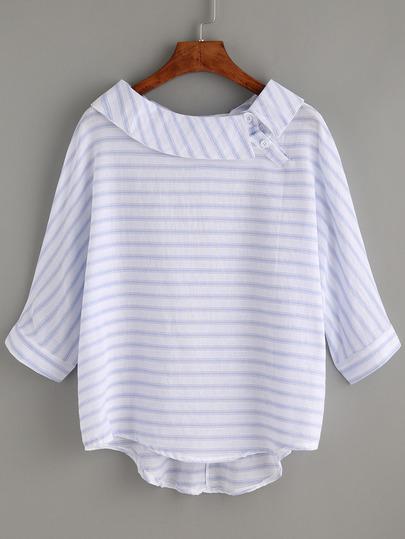 https://fr.shein.com/Striped-Blue-Boat-Neck-Dip-Hem-Shirt-p-291778-cat-1733.html