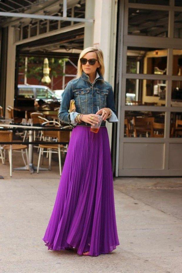 joli-jupe-longue-violette-femme-moderne-tendances-mode-2016-femme